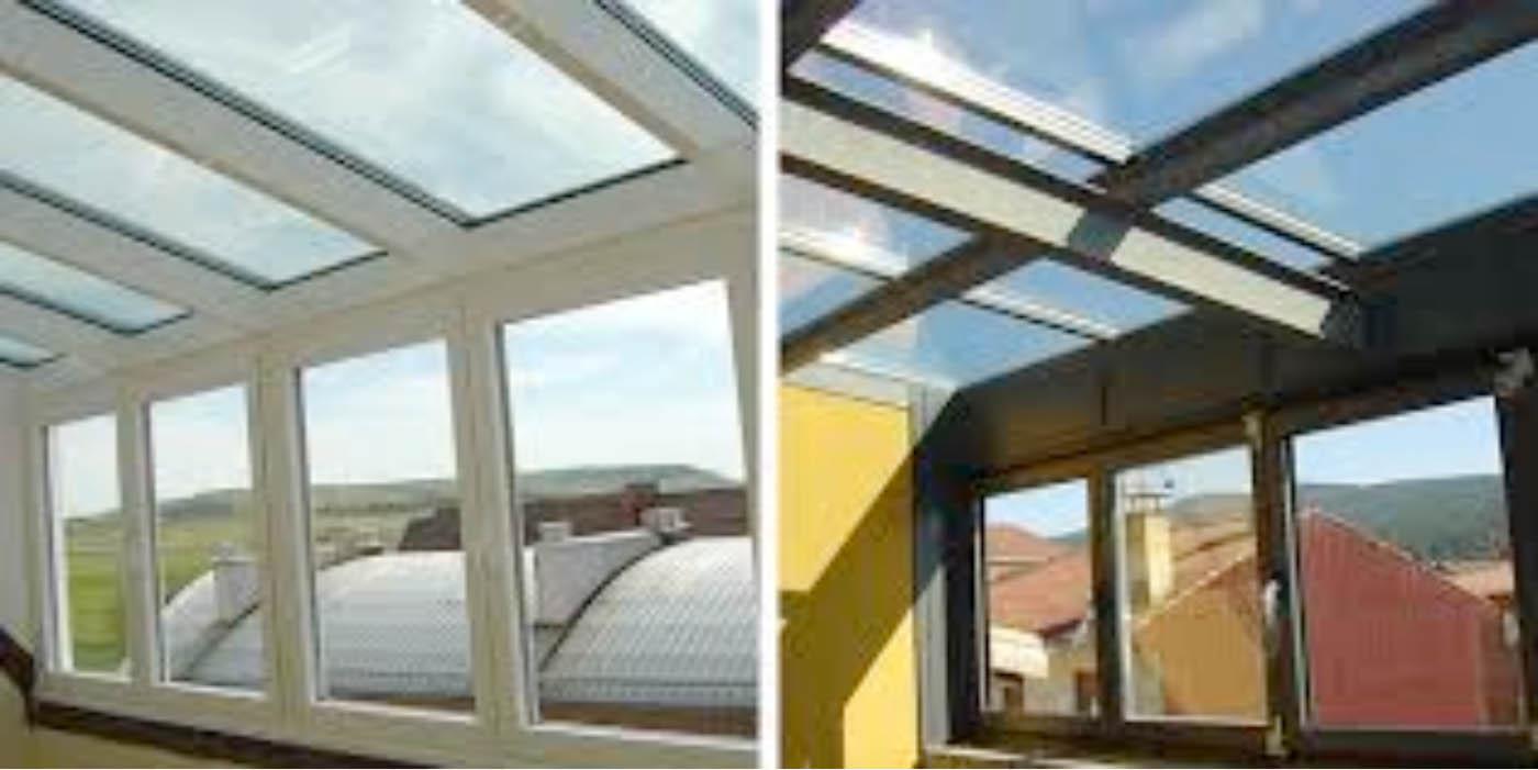 Techos de aluminio fijos y m viles aluminio y pvc f quiros - Techos de aluminio para terrazas ...