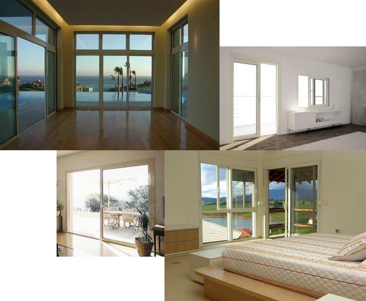 Sistema corredera de PVC para ventanas y puertas Premiline. Aluminios F. Quiros.